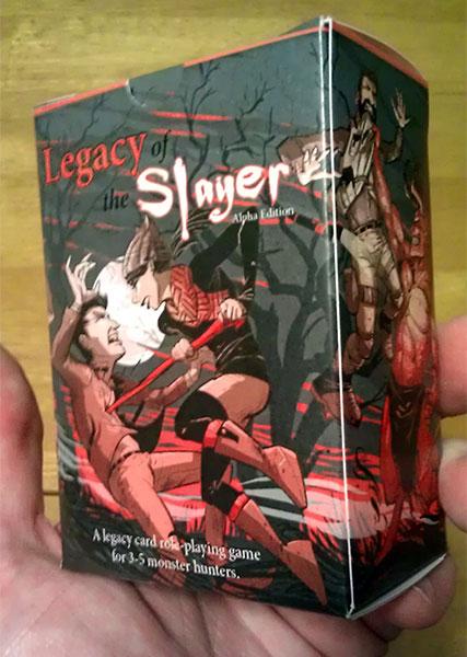 Legacy of the Slayer tuckbox